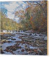 Fairmount Park - Wissahickon Creek In Autumn Wood Print
