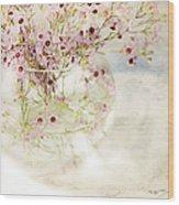 Fairy Bouquet Wood Print