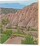 Fairy Chimneys In The Making In Cappadocia-turkey Wood Print