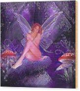 Fairy Fantasy Wood Print by Brian Graybill