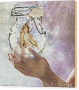 Fairy Wood Print by Juli Scalzi