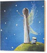 Fairy Maker By Shawna Erback Wood Print by Shawna Erback