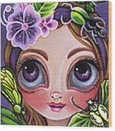 Fairy Of The Insects Wood Print