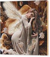 Fairy Of The Key Wood Print