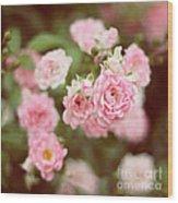 Fairy Roses Wood Print