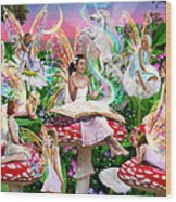 Fairy Story Wood Print