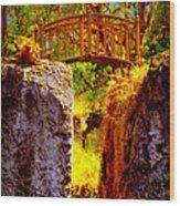 Fairytale Bridge Wood Print