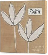 Faith Wood Print