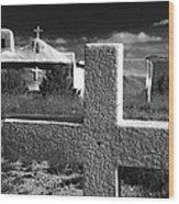 Faith - New Mexico  Wood Print