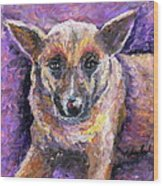 Faithful Friend Wood Print