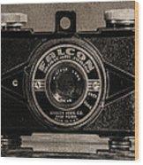 Falcon Minicam Junior Wood Print