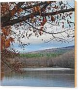 Fall Approaching Wood Print