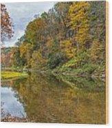 Fall At Little Beaver Creek Wood Print