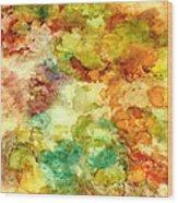 Fall Bouquet Wood Print