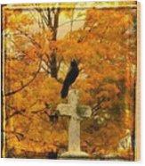 Fall Burst Wood Print