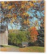 Fall Color Wood Print
