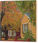 Fall Color Co-ordinated Wood Print