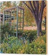 Fall Herb Garden0981 Wood Print