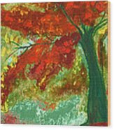 Fall Impression By Jrr Wood Print