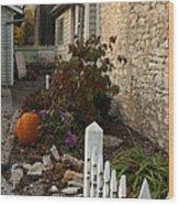 Fall In Elsah Il Img 9542 Wood Print