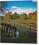 Fall In Massachusetts Wood Print