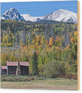 Fall In Summit County Wood Print