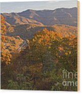 Fall In The Smoky Mountains Wood Print