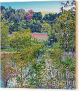 Fall In West Virginia Wood Print