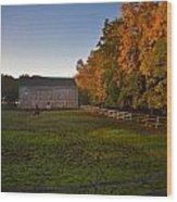 Fall In Wisconsin Wood Print