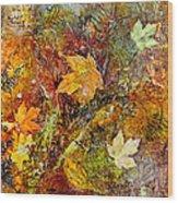 Fall Wood Print by Katie Black