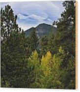 Fall Lenticular Cloud Wood Print