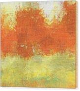 Fall Meadow Wood Print