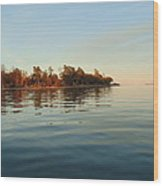 Fall On Lake Ontario Wood Print