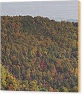 Fall Palette Wood Print