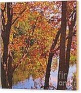 Fall River Nova Scotia Wood Print