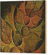 Fall Transitions Wood Print