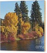 Fall Leavenworth Washington Wood Print