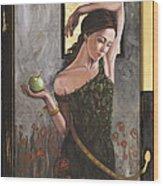 Fallen Eve Wood Print