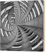 Rollercoaster Wood Print