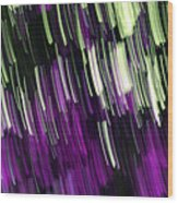 Falling Purple Wood Print