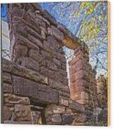 Falling Wall Jerome Wood Print