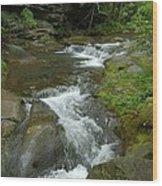 Falling Water At Falling Water Wood Print