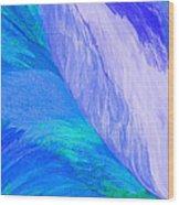 Falling Water By Jrr Wood Print