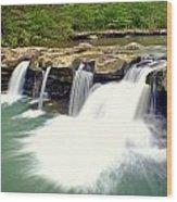 Falling Waters Falls 4 Wood Print