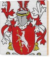 Fallon Coat Of Arms Irish Wood Print