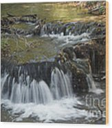 Falls Along Big Stone Lake Wood Print