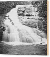 Falls Branch Falls Wood Print