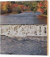 Falls Color Wood Print