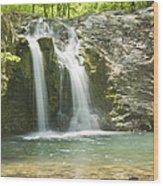 Falls Creek Falls Wood Print