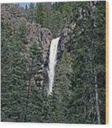 Falls Creek Wood Print